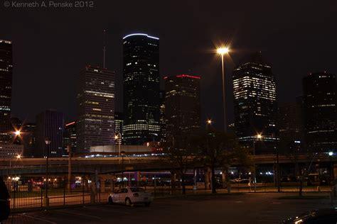Downtown Houston by night - Pentax User Photo Gallery
