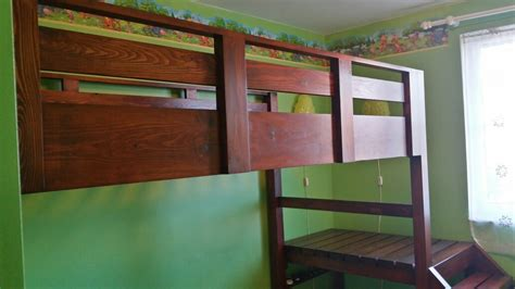 Ana White | Loft bed with platform - DIY Projects