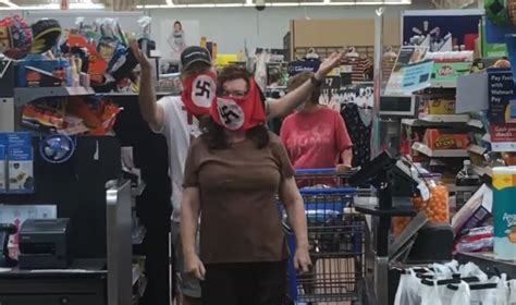 Couple Wearing Swastika Masks Banned From Walmart