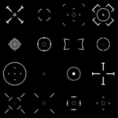 64 crosshairs pack   OpenGameArt