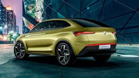 This is Skoda's first ever all-electric car: a 300bhp