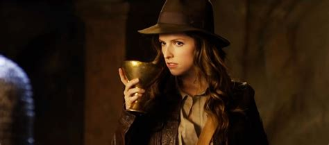 Could Anna Kendrick be the next Indiana Jones? This video