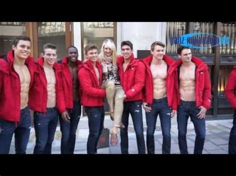 Abercrombie & Fitch Munich Store Opening: 'hottest