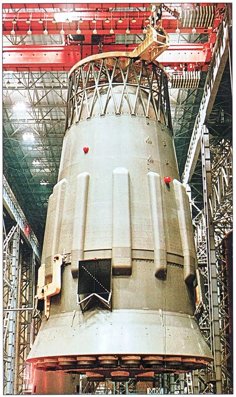 N1-L3 Moon Rocket Assembly | The N-1 Block A is 30