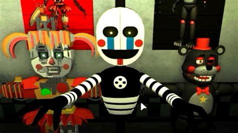 PLAY AS SECURITY PUPPET!! Five Nights at Freddy's 6 ROBLOX