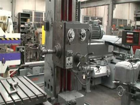 """Supermill Model J, 2-1/2"""" Spindle, Horizontal Boring Mill"""