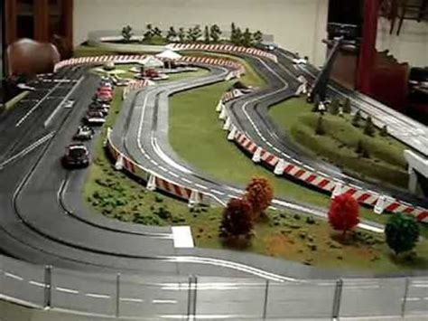 Carrera ghost slot cars in action - YouTube