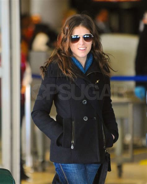 Photos of Anna Kendrick at LAX After Attending BAFTA