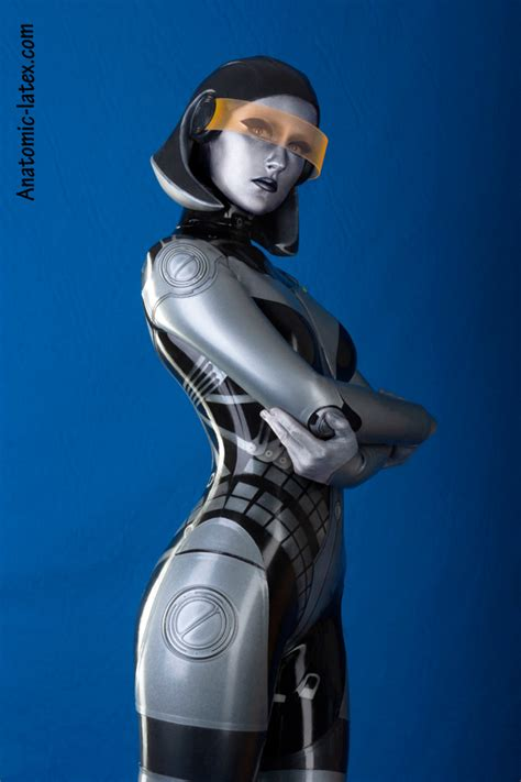 Thank you latex for this Mass Effect EDI cosplay - Nerd