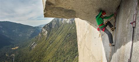 The Nose: Two seven meter boulder problems