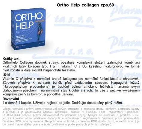 Ortho Help collagen cps