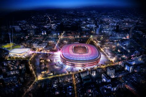 FC Barcelona unveil images for new expanded Camp Nou